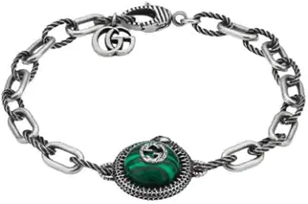 Gucci braccialetto da giardino a serpente YBA58378900100U