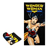 JPI Beach Towel - Wonder Woman Flight - Beach Towel Oversized 58'...