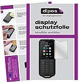 dipos I 2X Schutzfolie klar kompatibel mit Nokia 800 Tough Folie Bildschirmschutzfolie