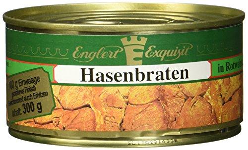 ENGLERT Hasenbraten/Dose, 2er Pack (2 x 300 g)