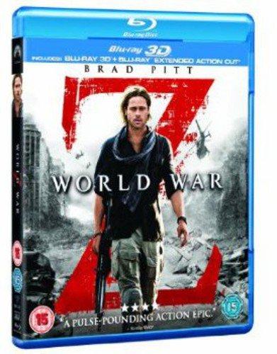 World War Z 2D + 3D Bluray (2 Blu-Ray) [Edizione: Regno Unito] [Reino Unido] [Blu-ray]