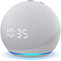 Echo Dot (4th Gen) with Clock