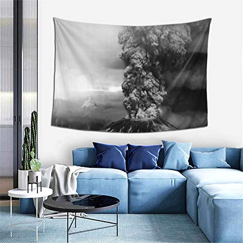 Isabelle & Emilie Tapestry Pop Smoke Tapestry Wall for Hanging Tapestries Bedroom and White Black Mandala World Map