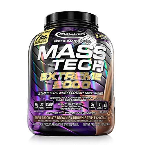 Muscletech Mass-Tech Extreme 2000 - 3,18 kg Triple Chocolate Brownie