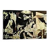 HUAIREN Picasso Guernica 1937 Kunst-Poster,