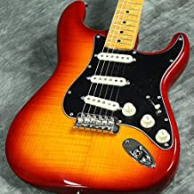Fender Rarities American Original '60s Flame Ash Top Stratocaster Electric Guitar, 21 Frets, Birdseye Maple Neck & Fingerboard, Plasma Red Burst