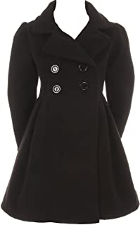 kids black coat