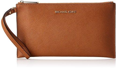 Michael Kors Jet Set Travel - Borse a secchiello Donna, Brown (Luggage), 1.25x14x24.9 cm (W x H L)