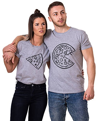 Pärchen T-Shirts Set Shirts für Paar...
