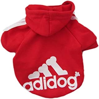 Pet Dog Cat Sweater Puppy T Shirt Warm Hooded Coat Clothes Apparel, Size S