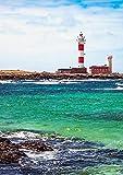 CALVENDO Leuchtturm: Faro de Toston, Poster DIN A1 hoch,