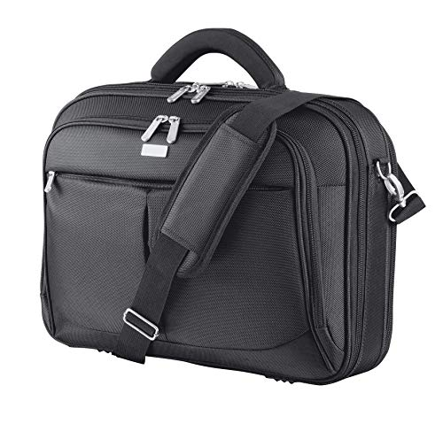 Trust Sydney 17 Inch Laptop Bag Business Briefcase for 17.3 Inch Laptops - Black