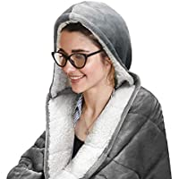 Pur Serenity 10-lb. Hooded Weighted Throw