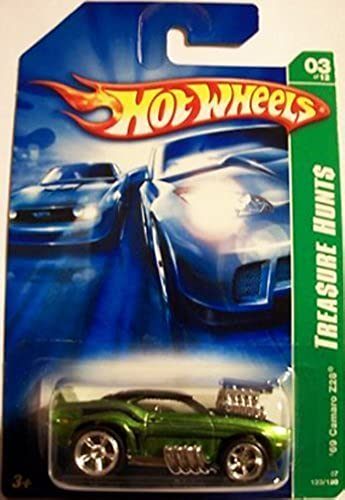 Hot Wheels  UPER Trea ure Hunt  1969 Chevy Camaro z28 2007 issue  123 by Hot Wheels
