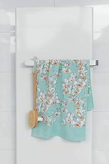 فيلير قطن نمط مزين بالورود , متعدد الالوان - مناشف الاستحمام