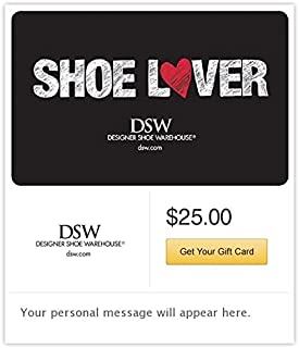 DSW Designer Shoe Warehouse Email Gift Card