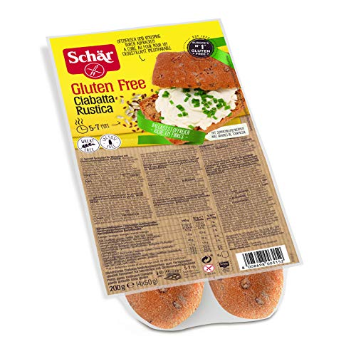 Schär Ciabatta Rustica glutenfrei 6er Pack (6 x 200 g)