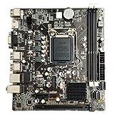 SovelyBoFan B75 LGA1155 Placa Base para Computadora de Escritorio con SATA 2.0 USB 3.0 2 DDR3 DIMM Placa Base 16G para PC Accesorios Duraderos para