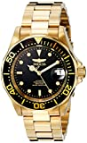 Invicta Men's Pro Diver 40mm Gold Tone Stainless Steel Automatic Watch, Gold/Black (Model: 8929)