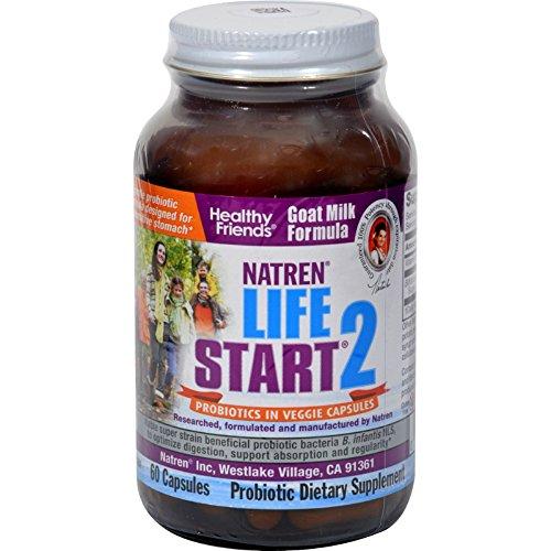 Natren Life Start 2 Goat Milk Formula for IBS Sufferers 60 Capsules