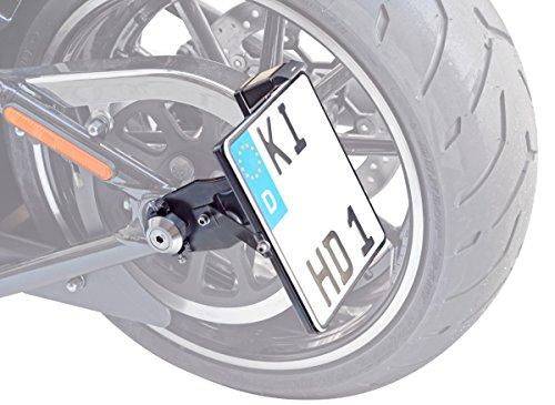 BUFFALO BAG Seitlicher Kennzeichenhalter 180x200 mm inkl. TÜV-Teilegutachten und Montagematerial~