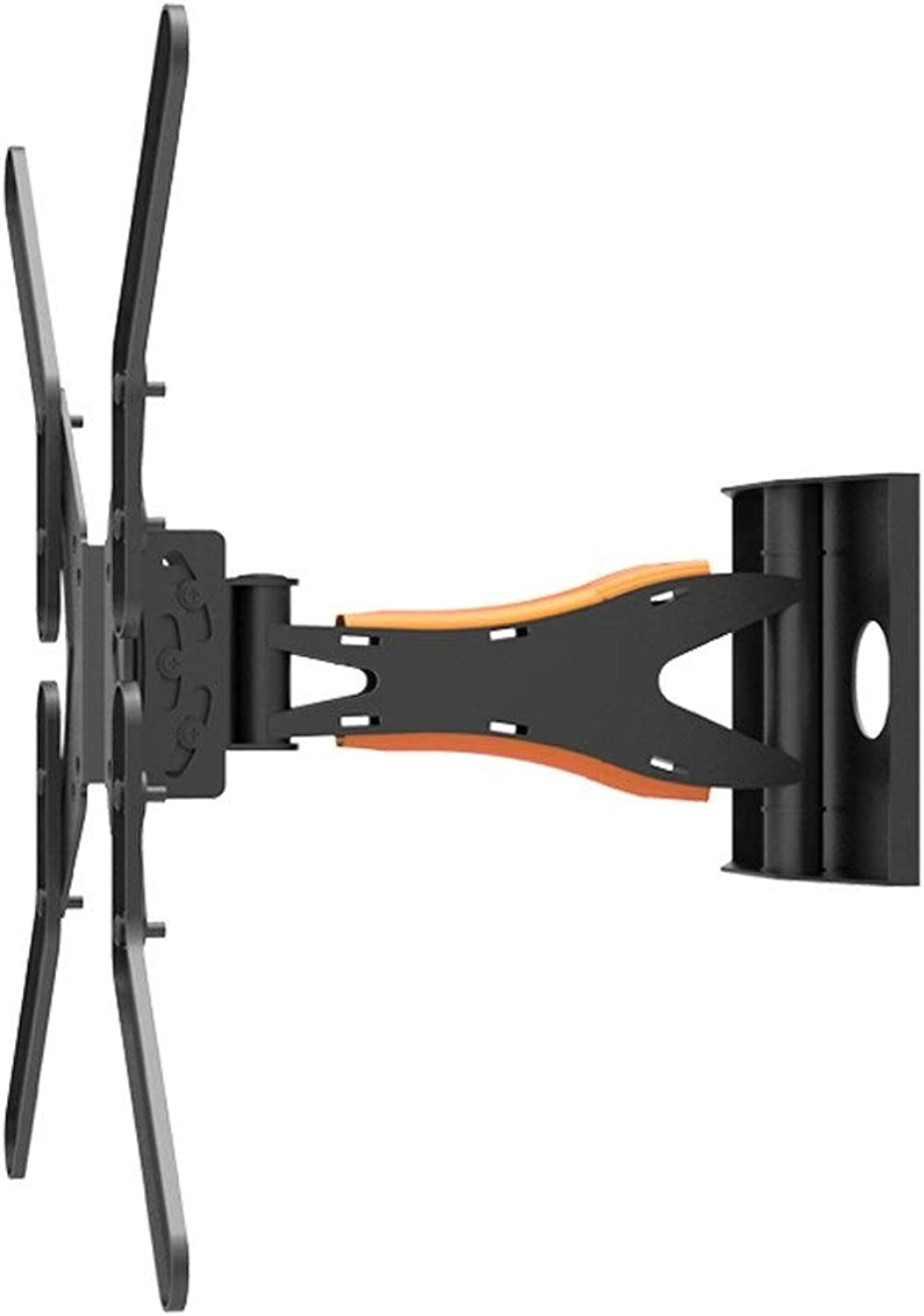TV Rack Telescopic for 32 43 49 55 65 Inches redating Wall Mount Bracket (color   Black, Size   16  16 inches)