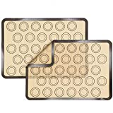 Silicone Baking Mats 2 Pack Xpatee...