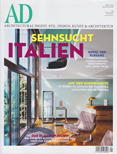 AD ARCHITECTURAL DIGEST 4/2016