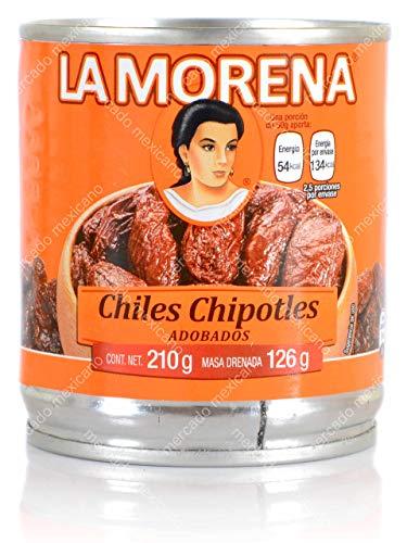 Chiles Chipotles Adobados La Morena