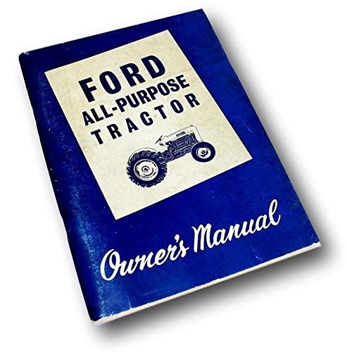 ford 2000 tractor manual - 7