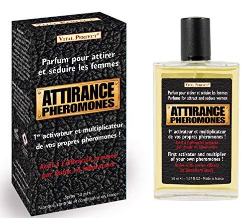 Pheromos – Parfüm für Herren mit Pheromon-Aktivator – Libido-Booster – fördert die Libido der Frau – leistungsstarker Aphrodisiakum für Männer
