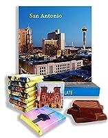 面白いサンアントニオシティ料理の贈り物⌘「SAN ANTONIO」⌘美味しいサンアントニオのチョコレートセット! (夜)