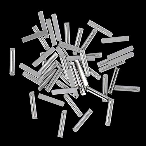 GD02 50pcs HO Code 100 Nickel Silver Metal Track Rail Joiners HO OO Scale NEW