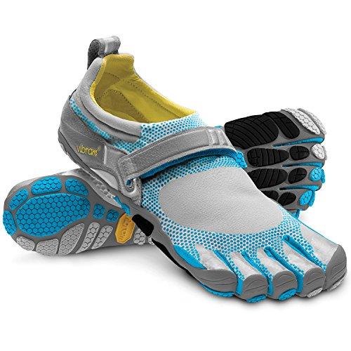 Vibram Five Fingers Damen Wm Bikila Sneaker, (Himmelblau/Dunkelgrau/Grau), 37 EU