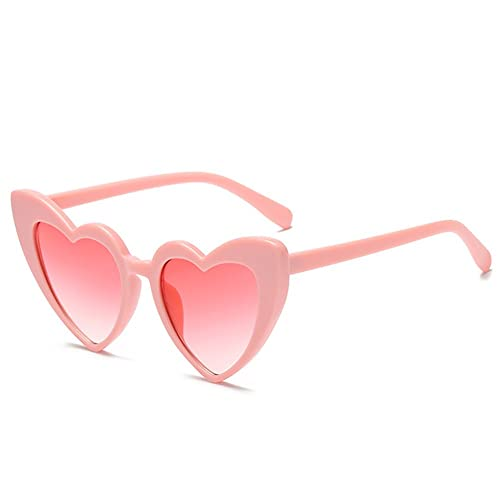 2c787b3b18e Love Heart Shaped Sunglasses Women Vintage Cat Eye Mod Style Retro Glasses