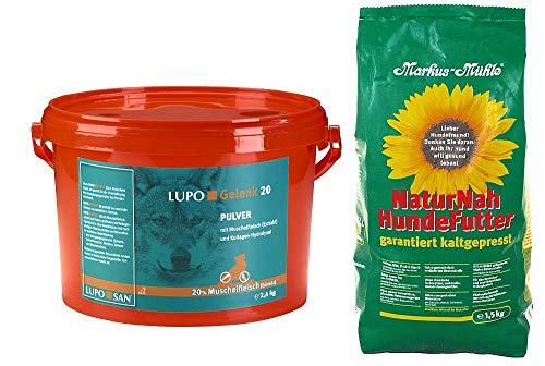 Luposan Lupo Gelenk 20 Pulver 2400g + 1,5kg NaturNah Hundefutter gratis!!!