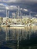 Rompecabezas de 1000 piezas Marina In Palma De Mallorca City Floor Puzzle