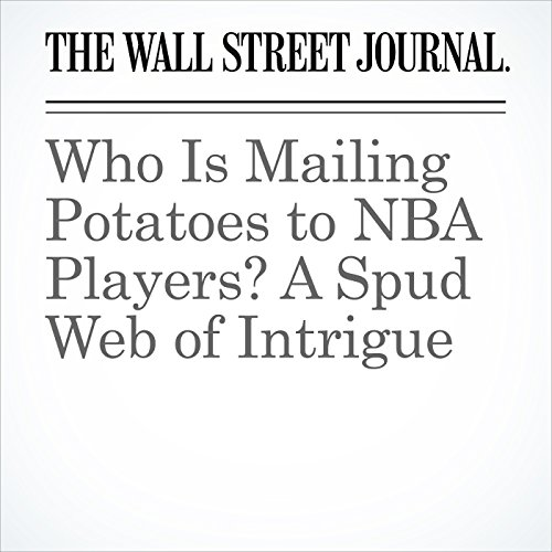 Who Is Mailing Potatoes to NBA Players? A Spud Web of Intrigue audiobook cover art