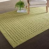 Marca de Amazon - Movian Kriva, alfombra rectangular, 175,3 de largo x 114,3 cm de ancho (diseño liso)