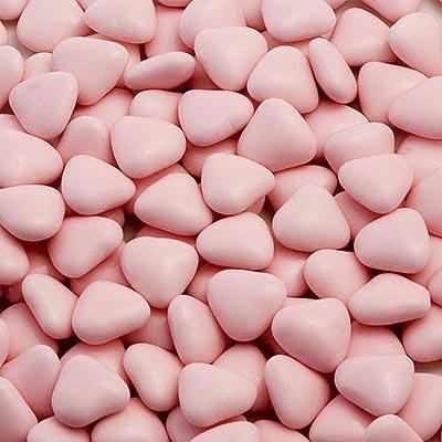 Roze Mini Hart Chocolade Dragees Bruiloft Favoriete Snoepjes (