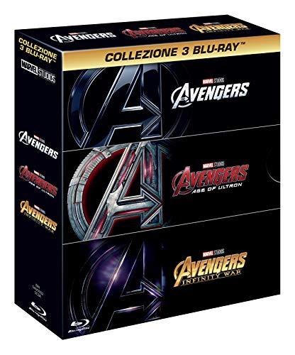 Blu-Ray - Avengers Trilogia (3 Blu-Ray) (1 Blu-ray)