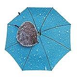 Diseño automático ligero compacto portátil del paraguas...