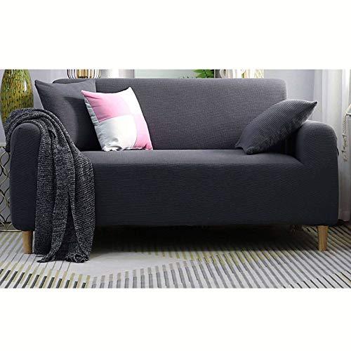Funda impermeable elástica para sofá, suave, antideslizante, transpirable, fácil de limpiar, ideal para salón, niños, gatos y perros, 145 – 185 cm