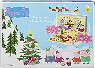 Advent PEPPA'S Countdown to Christmas Calendar! Includes a Supeise Toy Behind Every Door Perfect for Little Hands!