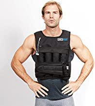 RUNmax rf20nop Run Fast 12lb-140lb Weighted Vest (without Shoulder Pads, 20lb),Black