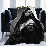 CLCL Diana Ross Soft Blanket Mantas de Moda Hombres Mujeres Sofá Cama 60 'X50'