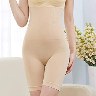 Seamless Women High Waist Slimming Panty Tummy Control Knickers Waist Trainer Modeling Shapewear Underwear Lady Body Shaper Znynig (Color : Skin, Size : 4XL)