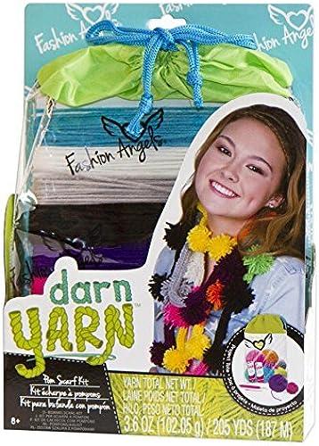 disfruta ahorrando 30-50% de descuento Fashion Angels Darn Yarn Pom Pom Scarf Scarf Scarf by Fashion Angels  mejor precio