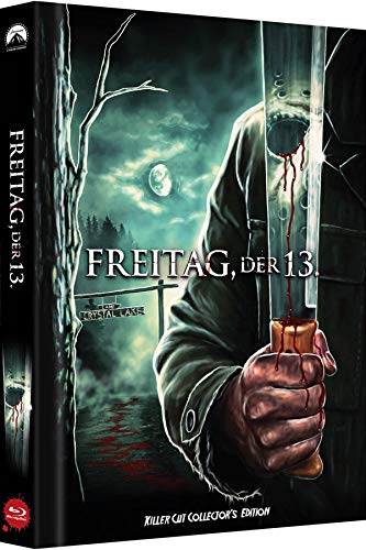 Freitag, der 13. - Killer Cut - Collector's Edition - limitiertes Mediabook auf 500 Stück (Cover C) (Killer Cut Aufkleber auf Folie) [Blu-ray]