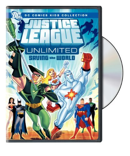 Justice League Unlimited: Saving the World - DC Comics Kids Collection by WarnerBrothers